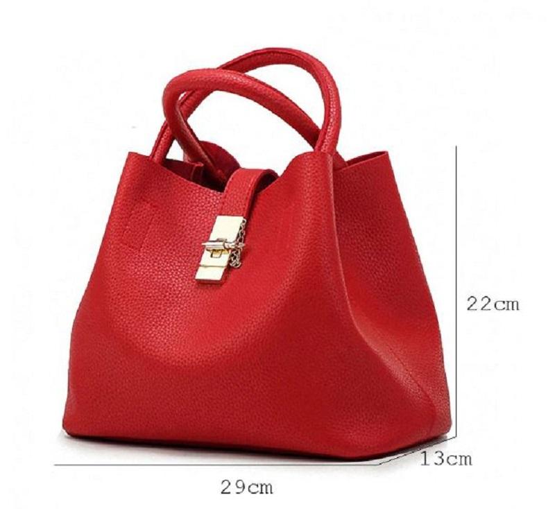 Stylová dámská kabelka taška do ruky červená černá a růžová barva na ... 5f6d8633414